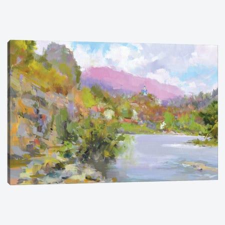 Mountanious Touch Canvas Print #YPR259} by Yuri Pysar Canvas Print