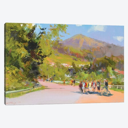 Mountanious Children Canvas Print #YPR261} by Yuri Pysar Canvas Wall Art