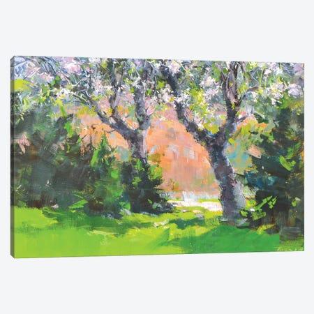 The Spting Garden Canvas Print #YPR262} by Yuri Pysar Canvas Art