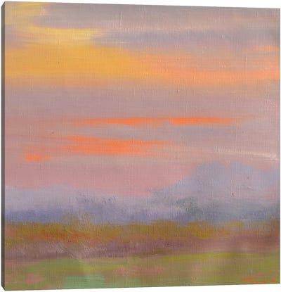When the paints speak Canvas Art Print