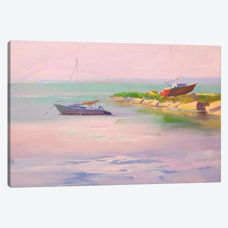 Lilac Calm Canvas Print #YPR275} by Yuri Pysar Canvas Art