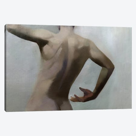 Male Nude Canvas Print #YPR277} by Yuri Pysar Canvas Wall Art