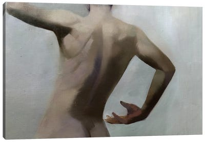 Male Nude Canvas Art Print