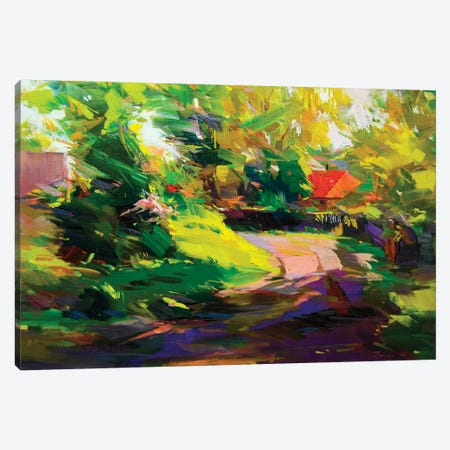 Path Of Shadows Canvas Print #YPR279} by Yuri Pysar Art Print
