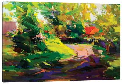Path Of Shadows Canvas Art Print
