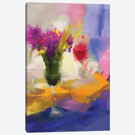 Rose And Red Canvas Print #YPR280} by Yuri Pysar Canvas Art
