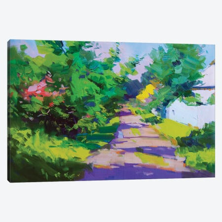 The Road Of The Sun Canvas Print #YPR282} by Yuri Pysar Canvas Wall Art