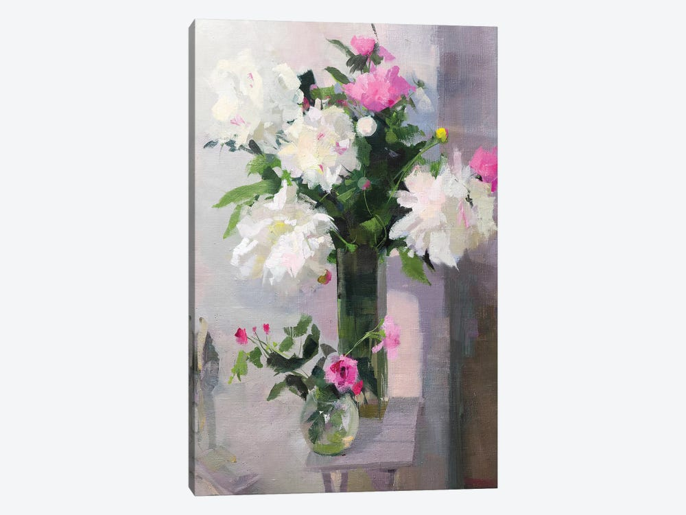 When The Flowers Smile by Yuri Pysar 1-piece Canvas Art