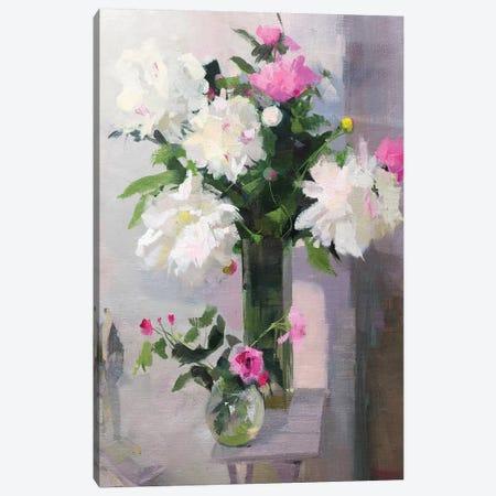 When The Flowers Smile Canvas Print #YPR286} by Yuri Pysar Art Print