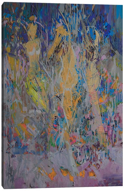Three Graces Canvas Print #YPR33
