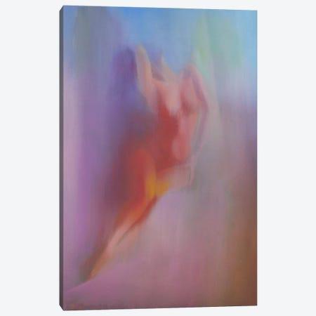 Woman from Diptych Canvas Print #YPR43} by Yuri Pysar Canvas Art Print