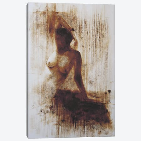 She Canvas Print #YPR47} by Yuri Pysar Canvas Artwork