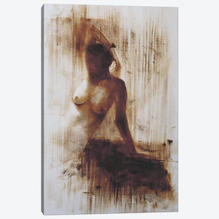 She Canvas Print #YPR47} by Yuri Pysar Canvas Artwork