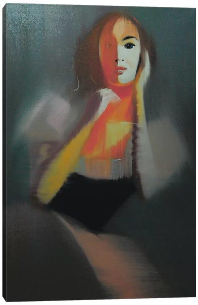 Giselle's Portrait Canvas Print #YPR51