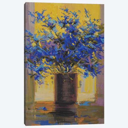 Floral Mystery Canvas Print #YPR53} by Yuri Pysar Canvas Artwork