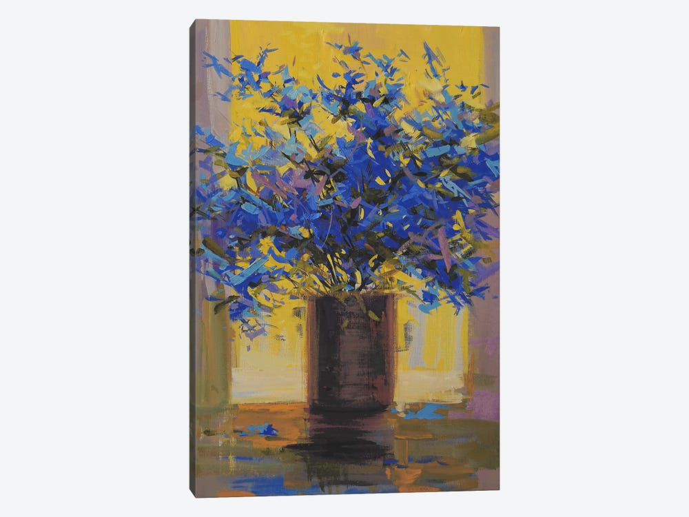 Floral Mystery by Yuri Pysar 1-piece Canvas Art