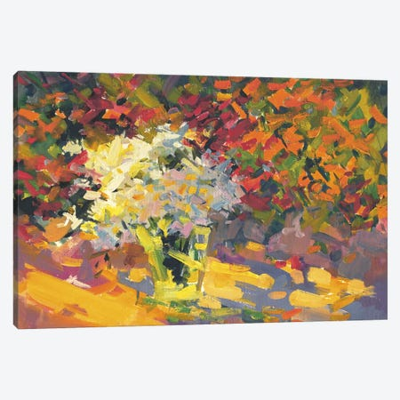Garden Canvas Print #YPR55} by Yuri Pysar Canvas Art Print