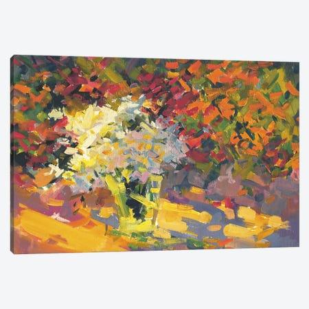 Garden Canvas Print #YPR55} by Yuri Pysar Canvas Art Print