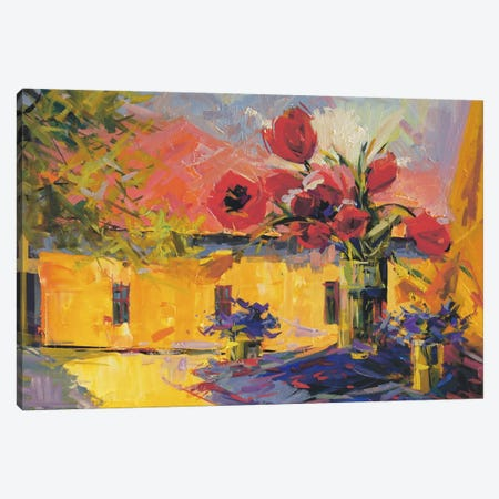 Spring Joy Canvas Print #YPR57} by Yuri Pysar Canvas Art Print