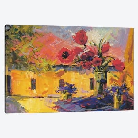 Spring Joy Canvas Print #YPR57} by Yuri Pysar Canvas Art Print