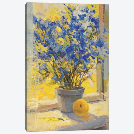 Still Life with Lemon Canvas Print #YPR58} by Yuri Pysar Canvas Art