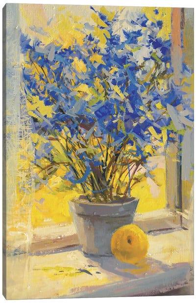 Still Life with Lemon Canvas Art Print