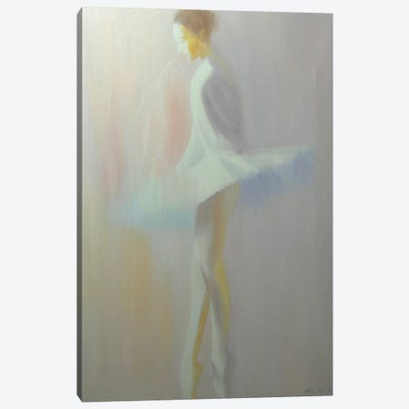 Morning White Canvas Print #YPR63} by Yuri Pysar Art Print