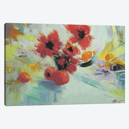 Red Fragnance Canvas Print #YPR67} by Yuri Pysar Canvas Art