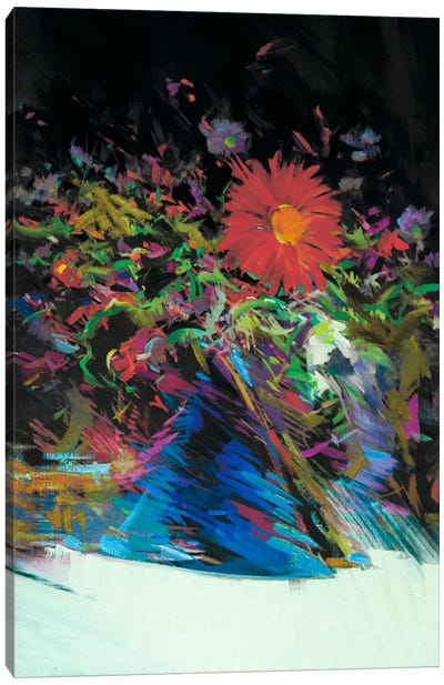 Spring Contrasts Canvas Print #YPR68