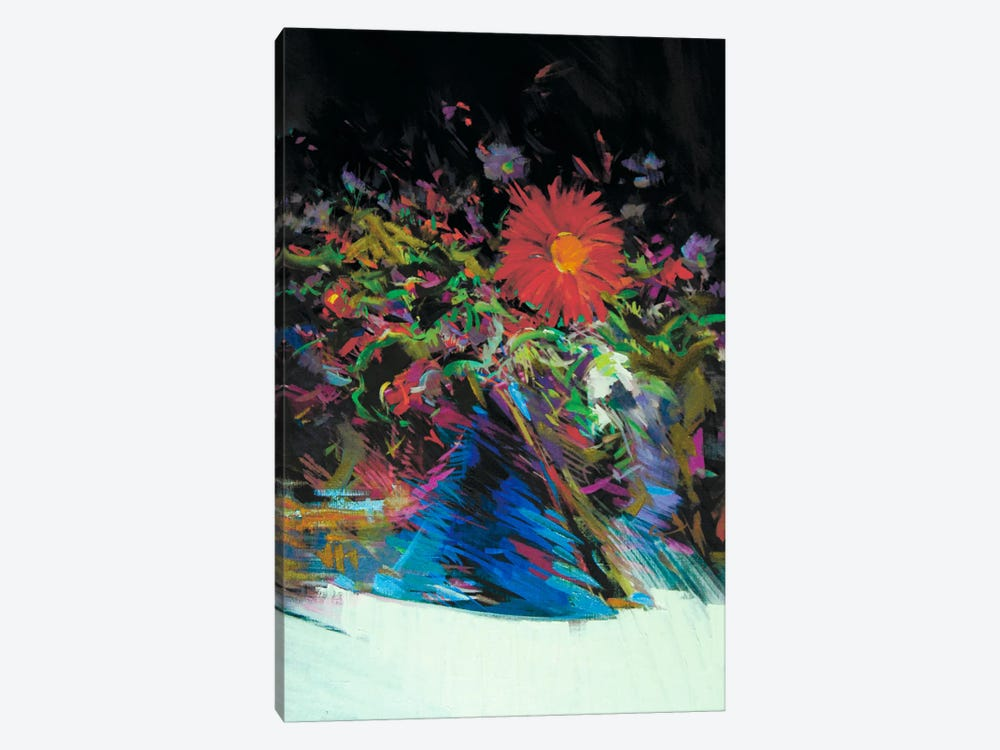 Spring Contrasts by Yuri Pysar 1-piece Canvas Artwork