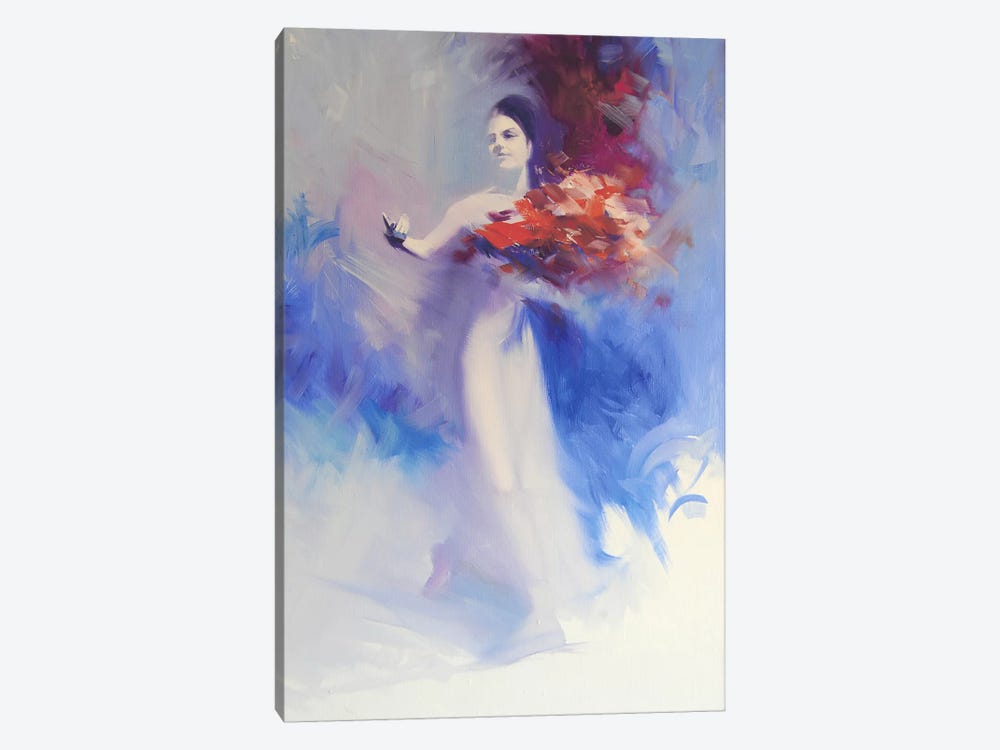 Bouquet of Flowers by Yuri Pysar 1-piece Canvas Wall Art