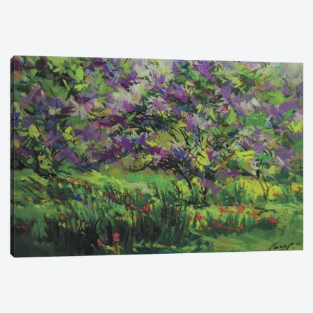 Floral Freedom Canvas Print #YPR72} by Yuri Pysar Canvas Art