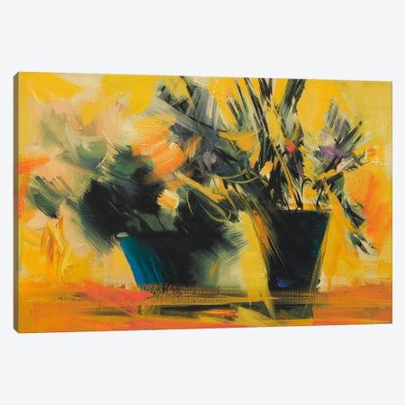 Dark In Sun Canvas Print #YPR80} by Yuri Pysar Canvas Art Print