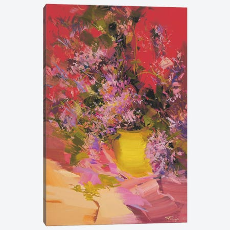 Lilacs Canvas Print #YPR82} by Yuri Pysar Art Print