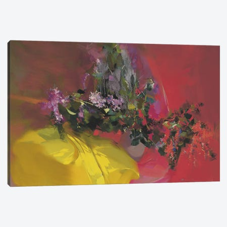 Lilacs Ray Canvas Print #YPR84} by Yuri Pysar Canvas Wall Art