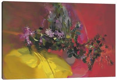 Lilacs Ray Canvas Art Print