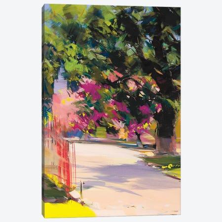 Cherry Tree Canvas Print #YPR86} by Yuri Pysar Canvas Artwork