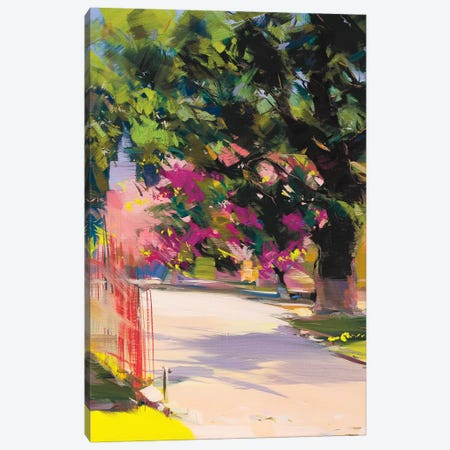 Cherry Tree Canvas Print #YPR86} by Yuri Pysar Canvas Artwork