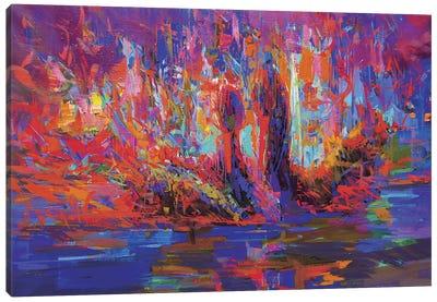 Swans Canvas Print #YPR8