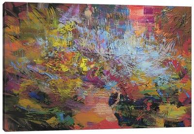 Blue Road Canvas Print #YPR95