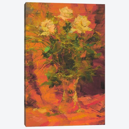 Mothers Flowers Canvas Print #YPR99} by Yuri Pysar Canvas Artwork
