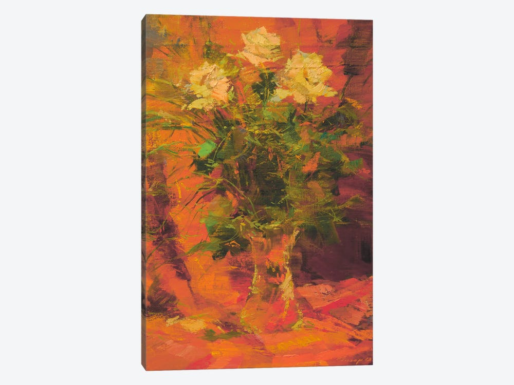 Mothers Flowers by Yuri Pysar 1-piece Canvas Artwork