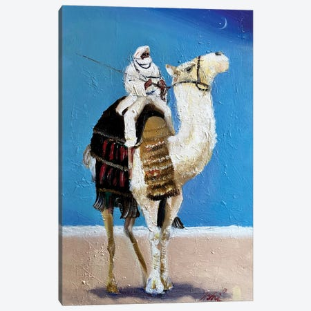 A Bedouin Canvas Print #YUA1} by Yura Ashi Canvas Wall Art