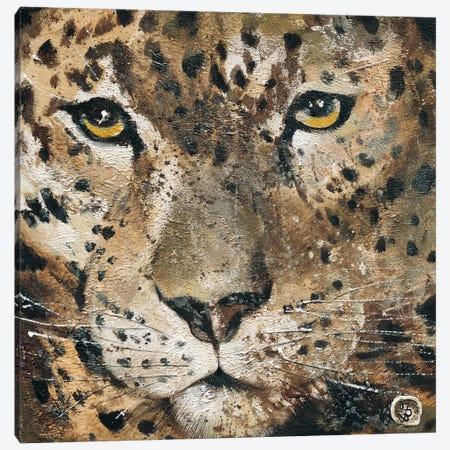 Leopard Canvas Print #YUL1} by Yuliya Volynets Canvas Print