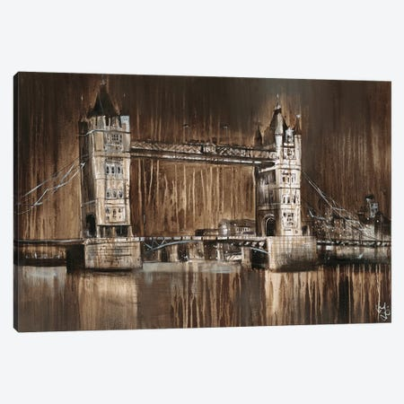 London Tower Bridge Canvas Print #YUL2} by Yuliya Volynets Canvas Print