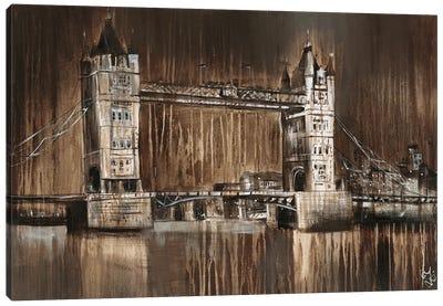 London Tower Bridge Canvas Art Print