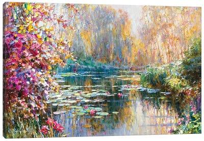 Bright Morning Canvas Art Print