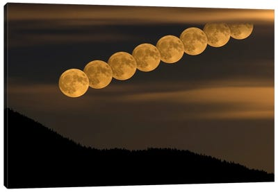 Full Moonrise Canvas Art Print
