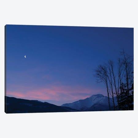 Moon At Dawn. Canvas Print #YUT20} by Yuichi Takasaka Canvas Print
