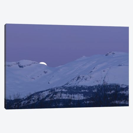 Moonset Canvas Print #YUT24} by Yuichi Takasaka Canvas Artwork